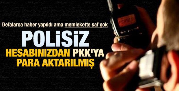 Eczacı kadına PKK'yla tele tokat