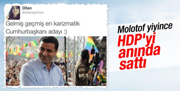 PKK'lıların yaktığı aracın sahibinin kızı HDP'yi sattı