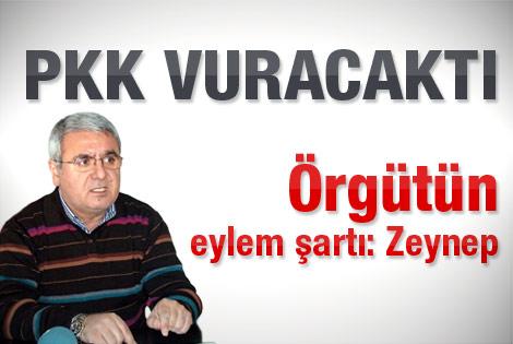 PKK Mehmet Metiner'i vuracaktı