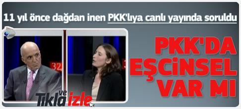 PKK'da eşcinsel var mı