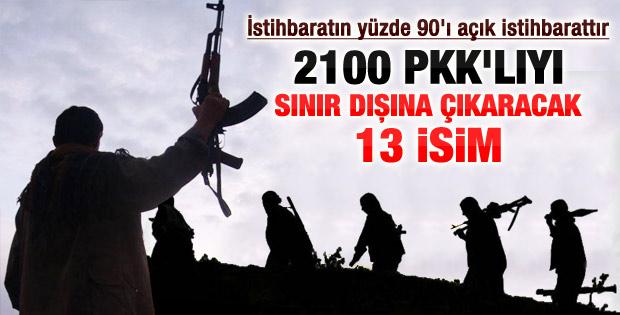 PKK'yı sınır dışına çekecek 13 isim