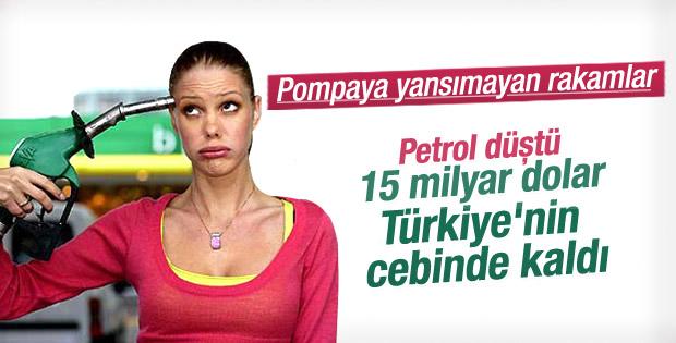Türkiye'nin petrol faturası 1,5 yılda yüzde 42 azaldı