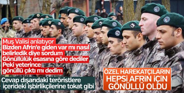 PKK'nın korkulu rüyası PÖH, Afrin'e gidiyor