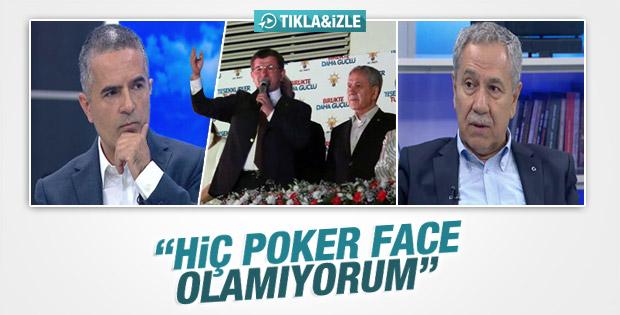 Bülent Arınç: Poker face olamıyorum