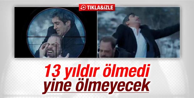 Kurtlar Vadisi'nde Polat Alemdar yine vuruldu İZLE