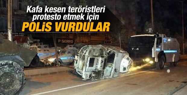 Bağcılar'da polise ateş açıldı