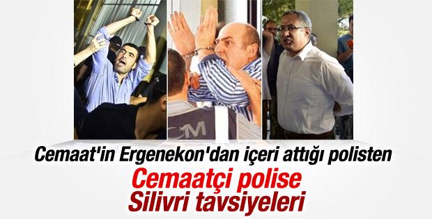 Ergenekon tutuklusundan Cemaatçi polise Silivri tavsiyesi