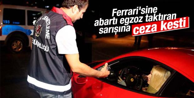 Kadıköy'de modifiyeli araçlara ceza verildi