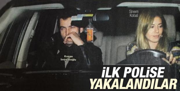 Sinem Kobal ve Kenan İmirzalıoğlu'dan ilk fotoğraf