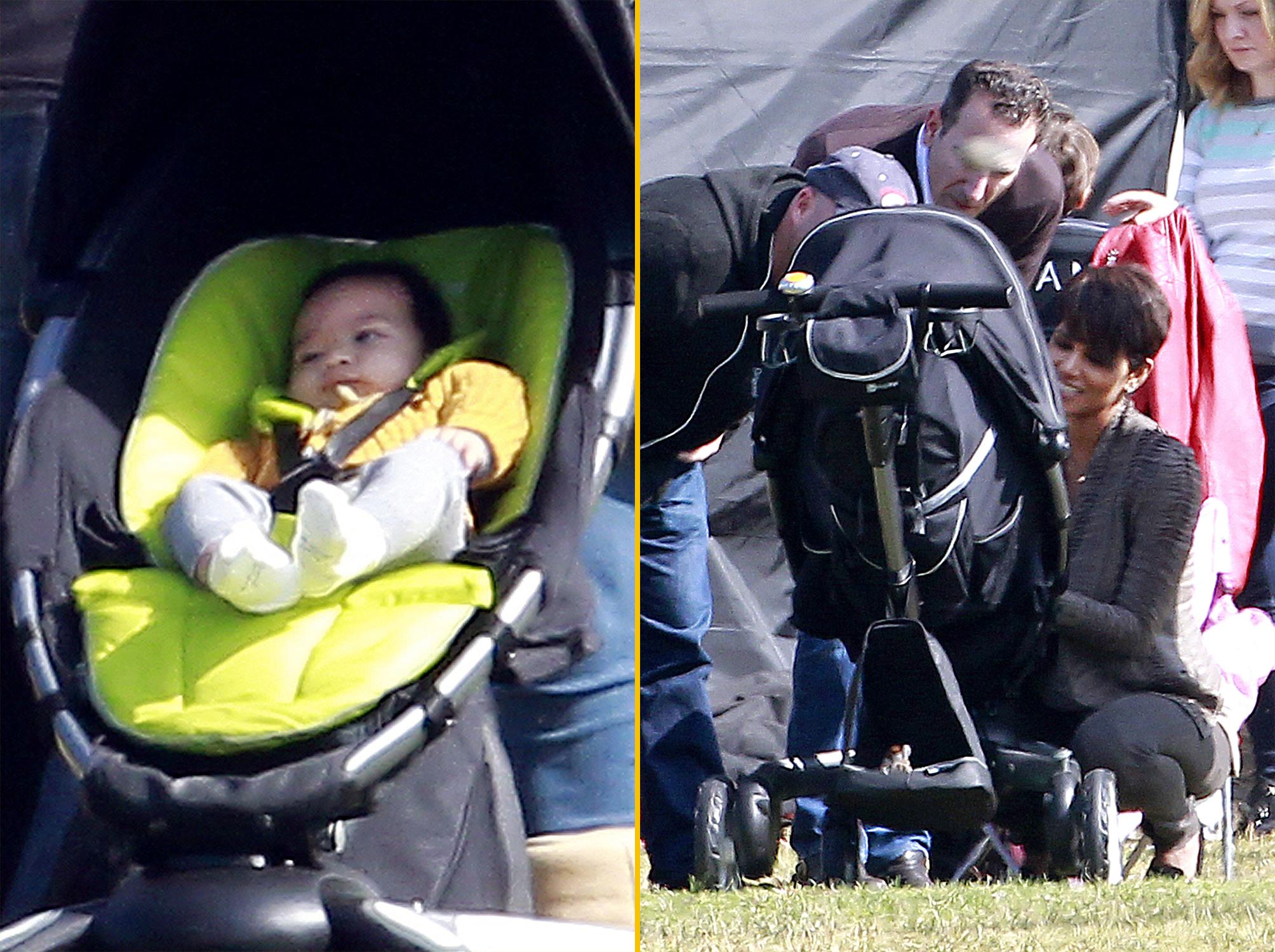 Halle Berry ile Olivier Martine'nin oğlu Maceo