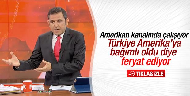 Fatih Portakal'dan Türkiye'ye ABD eleştirisi