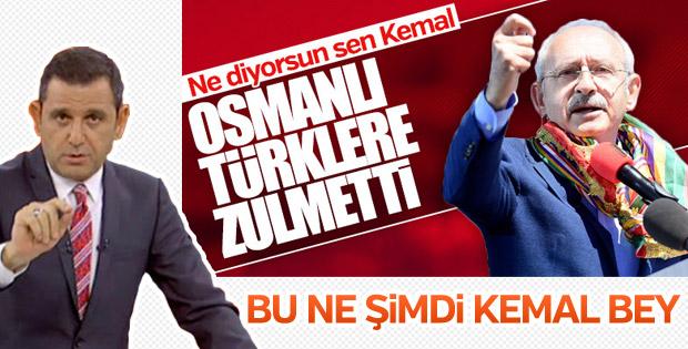 Portakal, Kılıçdaroğlu'nun Osmanlı sözlerine kızdı