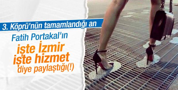 Fatih Portakal 3. Köprü'yü değil ızgaralı yolları konuştu