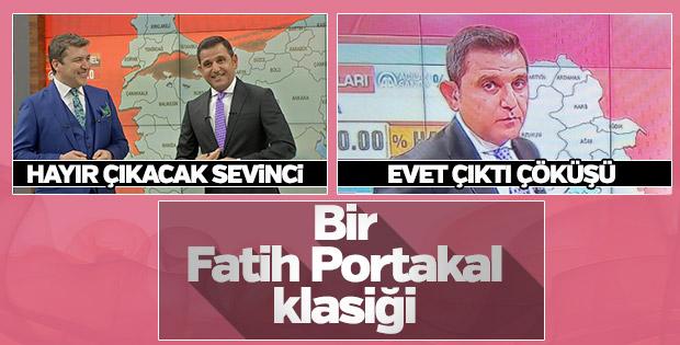 Seçim sonuçlarını gören Fatih Portakal'ın morali bozuldu