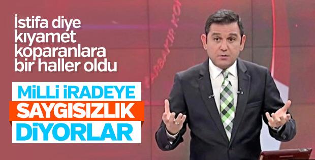 Fatih Portakal belediyelerde istifa iddialarını yorumladı