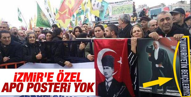 İzmir'de Öcalan'sız HDP mitingi