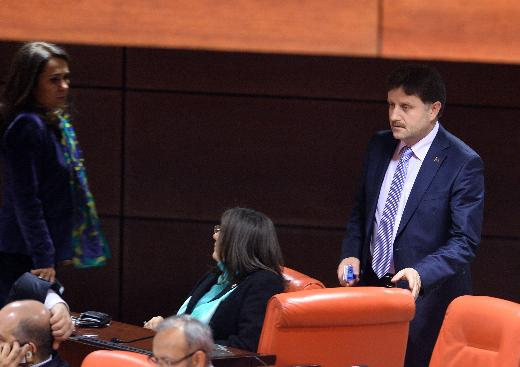 Meclis'te Meral Akşener'in zor anları