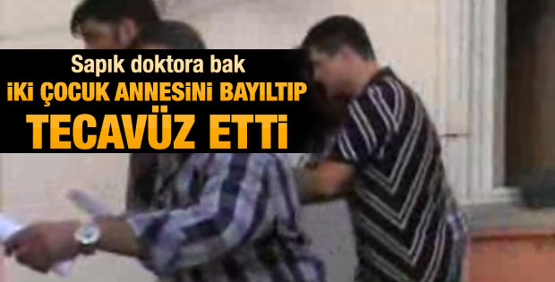 Pratisyen hekim hastaya tecavüzden tutuklandı
