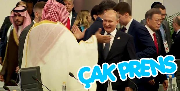 G-20'de Putin ve Selman tokalaşması