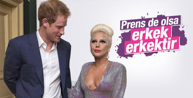 Prens Harry Lady Gaga ile bir araya geldi