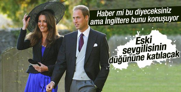 Prens William eski sevgilisinin düğününe katılacak