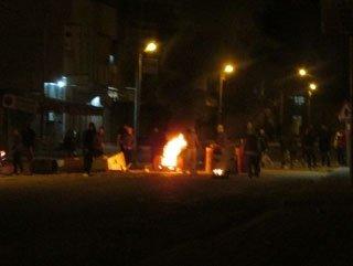 Gündeydoğu'da seçim sonrası şiddet olayları
