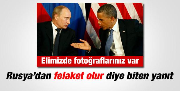 ABD'den Rusya'ya: Elimizde fotoğraflar var