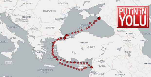 Türk boğazlarından geçen Rus gemileri
