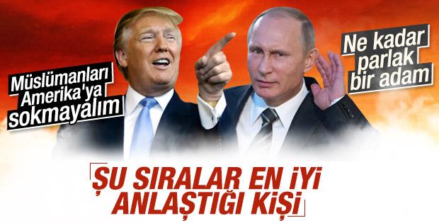 Donald Trump Putin'in övgülerine cevap verdi