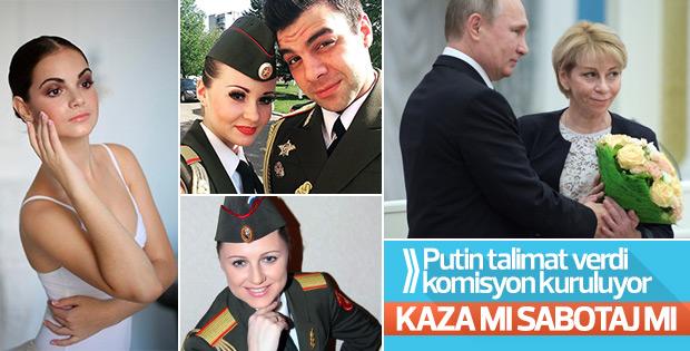 Putin talimat verdi: Kazayla ilgili komisyon kuruluyor