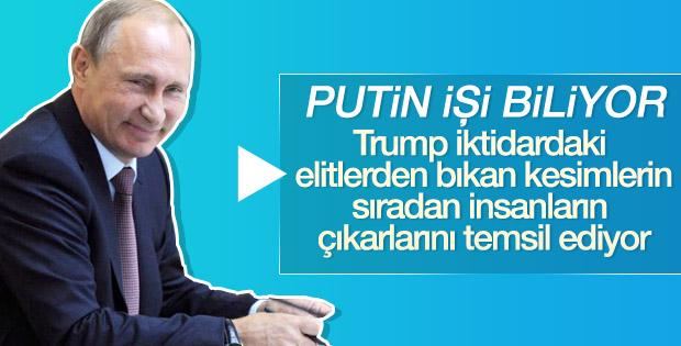 Putin, başkanlık yarışında Trump'ı destekledi
