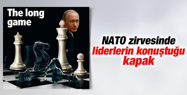 The Economist'in kapağı NATO'ya damga vurdu