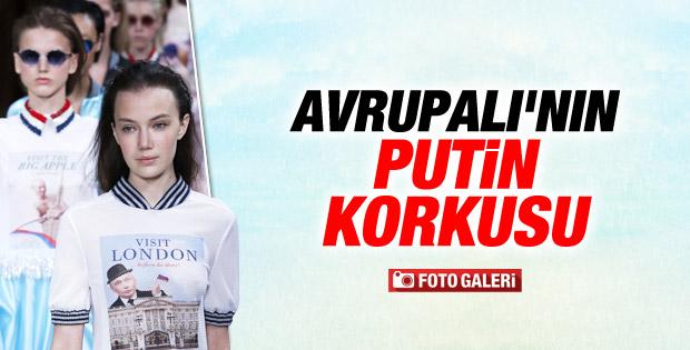 Paris Moda Haftası'nda Putin mesajı