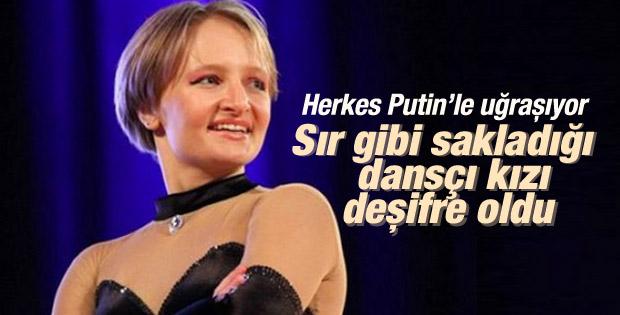 Putin'in kızı Yekaterina deşifre oldu