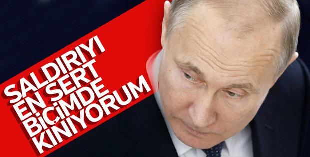 Suriye'ye saldırı sonrası Putin'den ilk açıklama