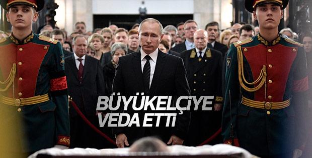 Moskova'da Andrey Karlov için cenaze töreni