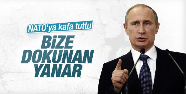 Putin'den NATO'ya: Tehdit edilirsek karşılık veririz