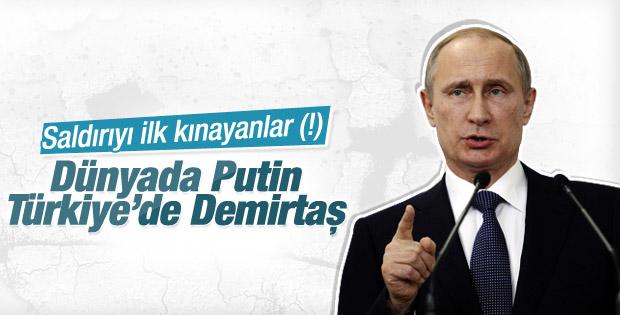 Putin Ankara saldırısını kınadı