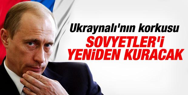 Yatsenyuk: Putin Sovyetler'i yeniden kurmak istiyor