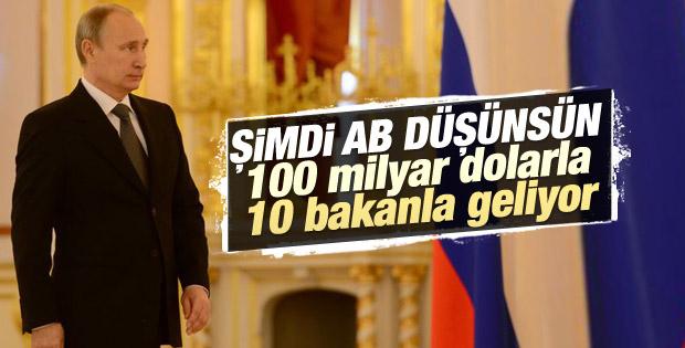 Putin 100 milyar dolarlık imza için Türkiye'ye geliyor