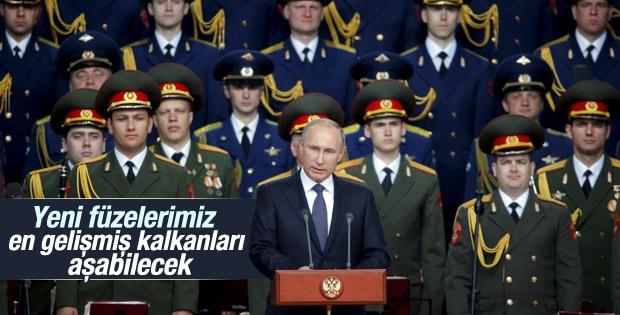 Rusya Devlet Başkanı Putin'den nükleer füze açıklaması