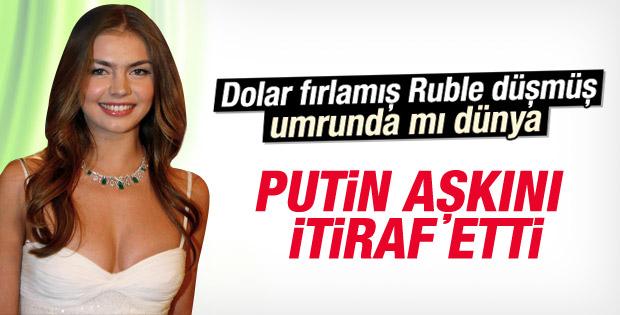 Rusya Devlet Başkanı Putin'den aşk itirafı