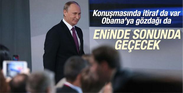 Putin Rus ekonomisine güveniyor