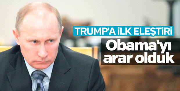 Putin: ABD'ye güvenimiz azaldı