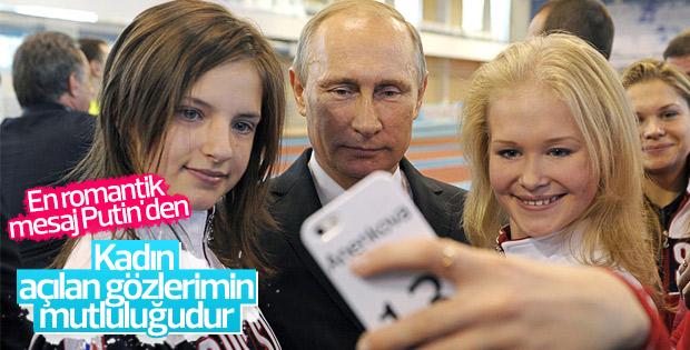 Putin, Kadınlar Günü'nü şiir okuyarak kutladı