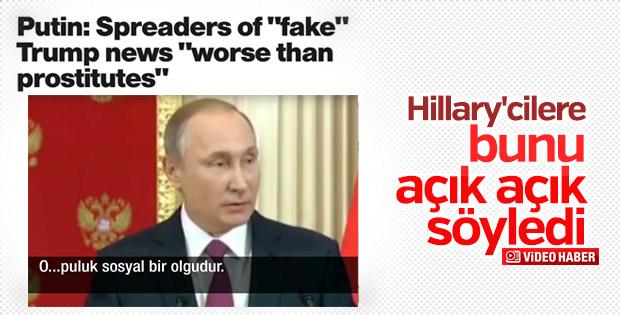 Putin: Trump'ın meşruiyeti baltalanmaya çalışılıyor