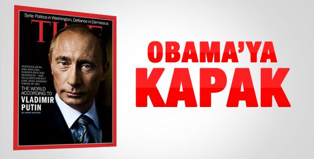 Putin, Time'a kapak oldu