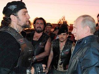 Putin'in Gece Kurtları Ukrayna'ya gidiyor