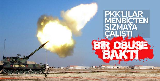 Menbiç'te PKK'ya karşı operasyon başladı
