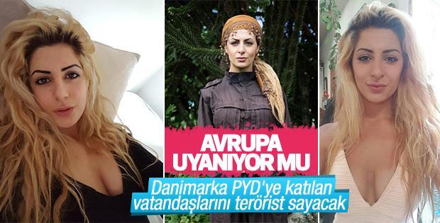 Danimarka PYD'ye katılan vatandaşına hapis cezası verecek